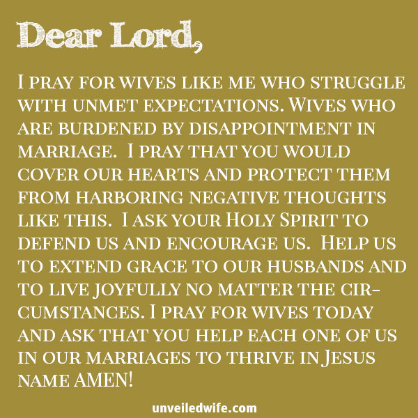 Prayer Dont Be Burdened By Disappointment