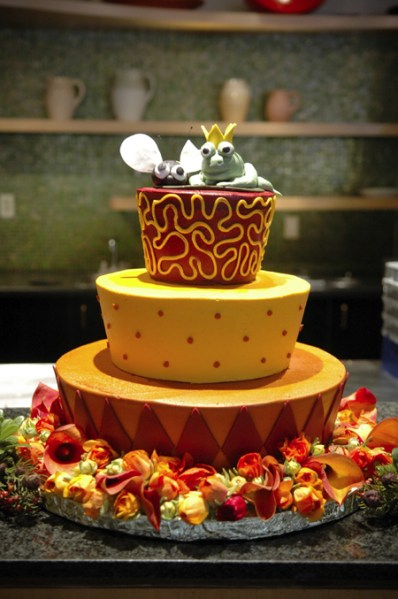 Sylvia Weinstock inspired cake
