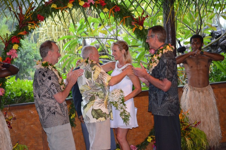 Fiji resort wedding