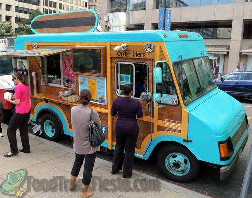 Trendy food truck