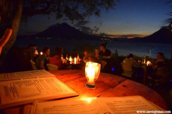 Café Sunset y sus vistas