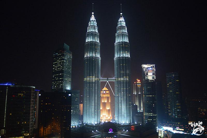 Las torres petronas de Kuala Lumpur, Malasia.