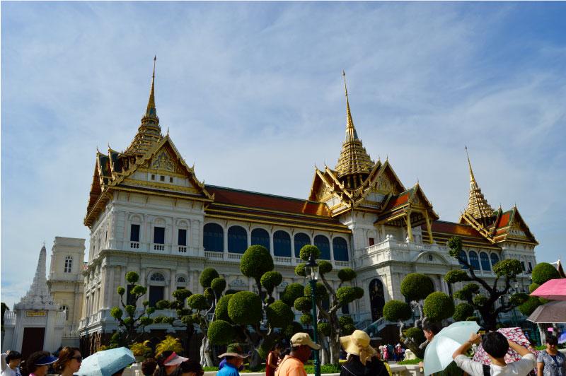 Palacio Real de Bangkok, Tailandia.