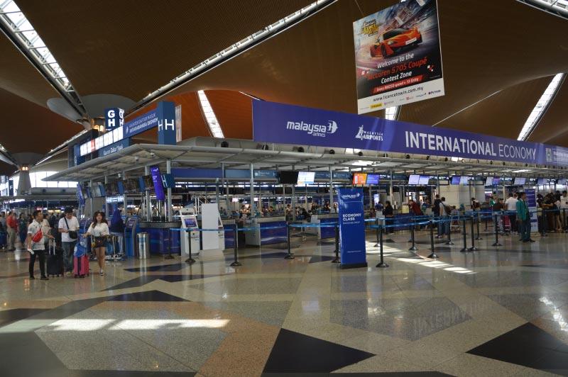 Aeropuerto de Kuala Lumpur, como llegar al centro.