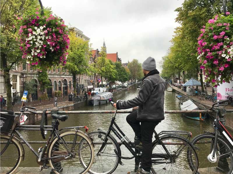 Pasaje barato a Amsterdam