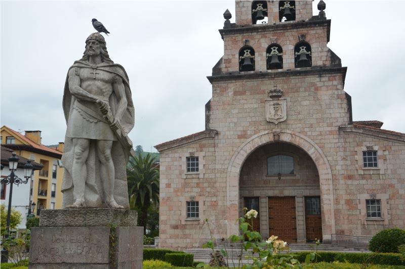 Iglesia de la Asuncion, que ver en Cangas de Onis.