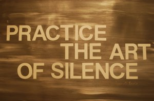the art of silence
