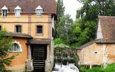 L'Huisne et le village de Villeray