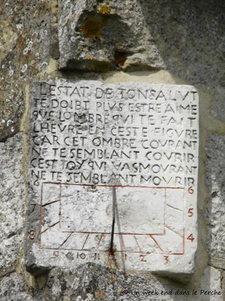 Cadran solaire de St Agnan sur Erre