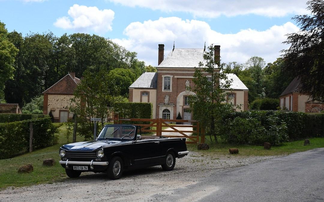 Les routes du Perche en cabriolet vintage