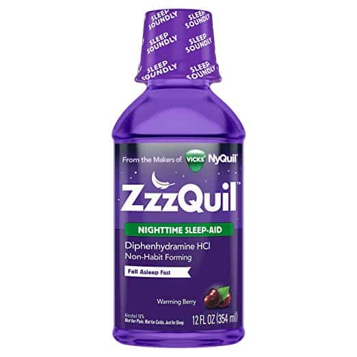 melatonin vs zzzquil