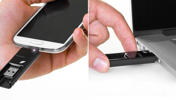電腦,手機兩用 USB 記憶棒 - UNWIRE.HK
