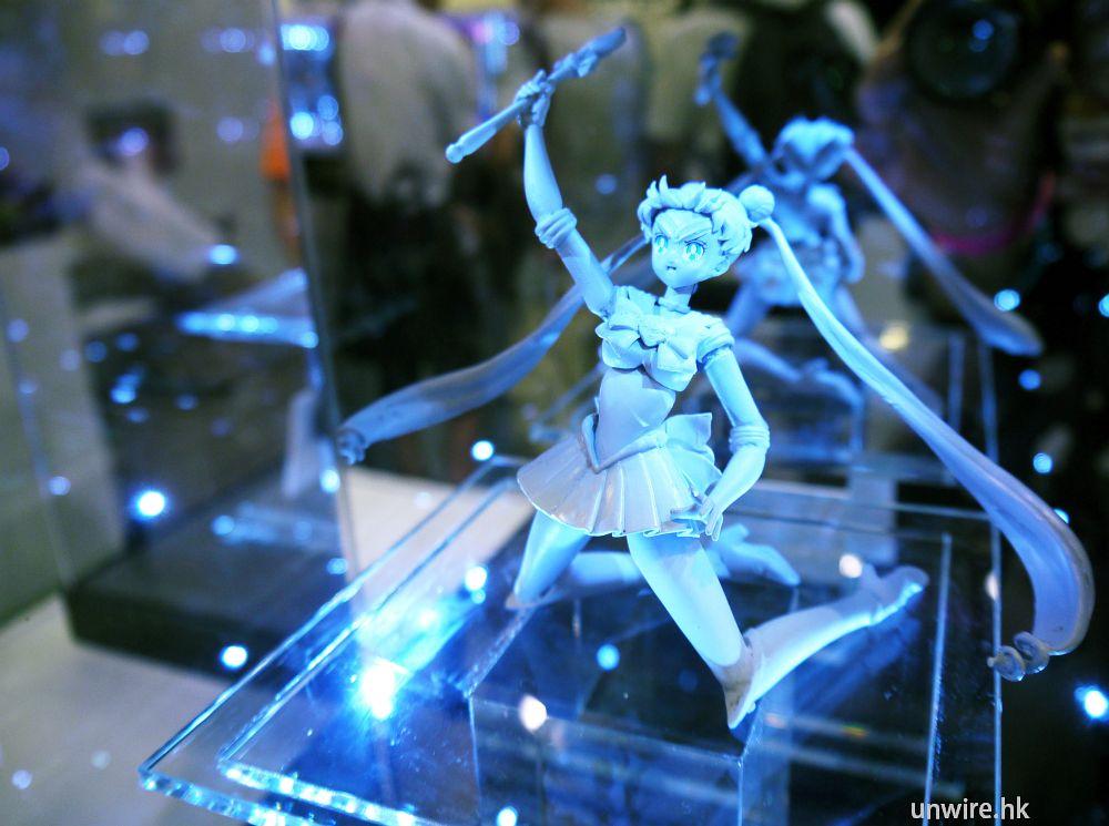 【動漫節 2013】如何回到當時?龍王丸、魔動王、Sailor Moon、鐵甲威龍 Figure 登場! - UNWIRE.HK