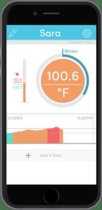 TempTraq App Screenshot