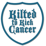 Kilted To Kick Cancer Logo