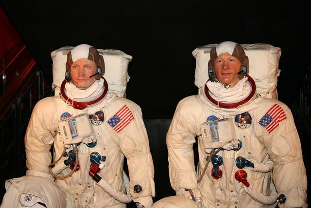 Свидетельства НЛО Астронавтами «НАСА». Neil_Armstrong__Edwin_Aldrin