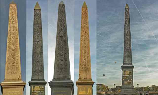 13 символов Иллюминатов и их значения. Obelisks-of-paris