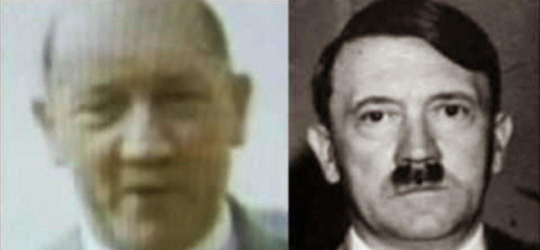 ФБР тихо рассекретило документы, о том, что Гитлер бежал в Аргентину в 1945 году. Hitler_Argentina_1945
