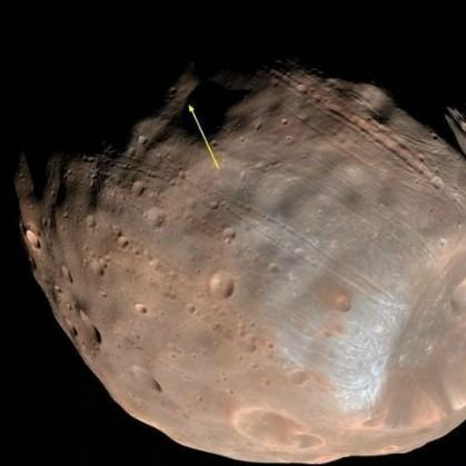 Инопланетные монолиты, обнаружены на Марсе и его луне Фобосе. QuotExtraterrestrialquot-explorers-allegedly-built-Monoliths-on-Mars-and-the-Phobos