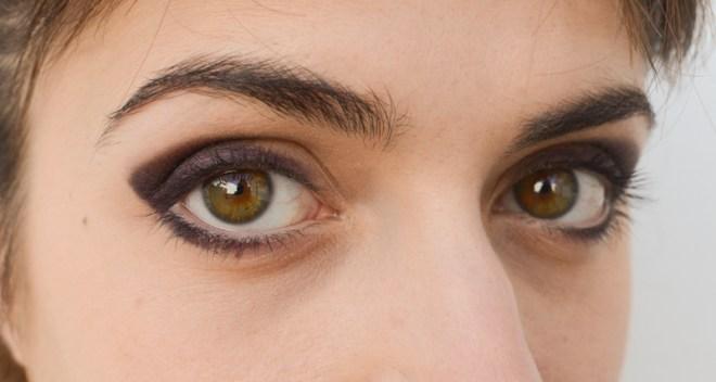 Rainbow eye makeup tutorial - step 3