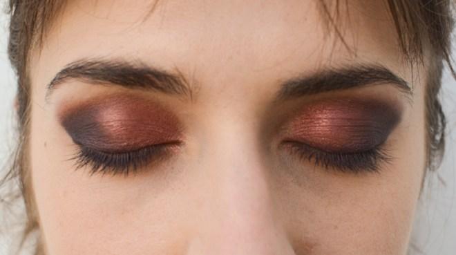 Rainbow eye makeup tutorial - step 4