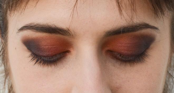 Rainbow eye makeup tutorial - step 5