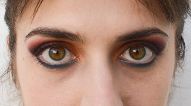 Rainbow eye makeup tutorial - step 8