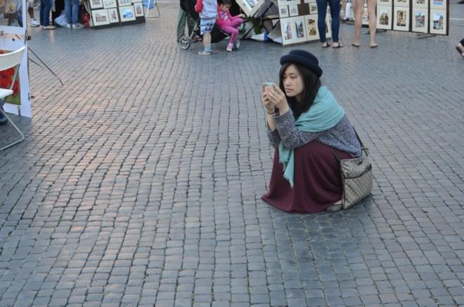 europe street style rome italy