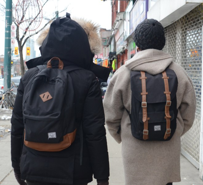 street style spring 2014 toronto backpack