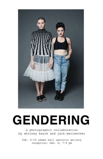 gendering whitney bauck jack meriwether
