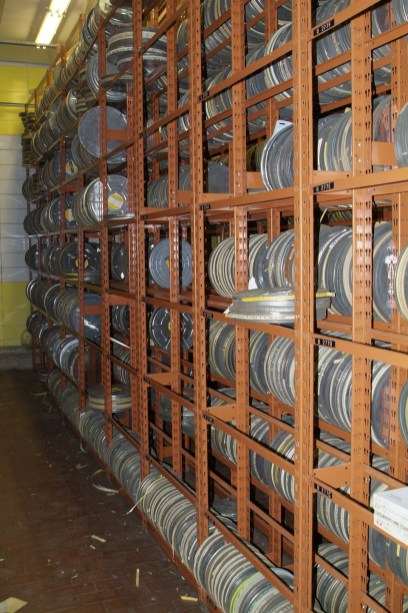 Stack at warehouse.