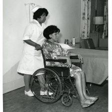 513-AS Indian School of Practical Nursing student Roselene Johnson, May 1970