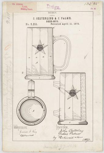 J. Oesterling and J. Palme's Beer Mug https://catalog.archives.gov/id/16943529