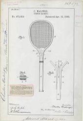 C. Malings' Tennis Racket https://catalog.archives.gov/id/6104274