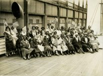 """Original Caption: """"Party """"K"""" - Sailed July 10, 1931."""" Local ID: 92-GS-3-224."""