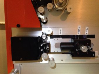 Normal 35mm scanner configuration.
