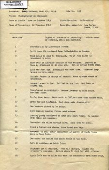 World War II Oral Histories, Interviews, and Statements; National Archives Identifier: 2990147; HMS Entry Number(s): P11.