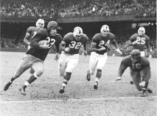 79-RED-32: Photograph of Washington Redskins Quarterback Sammy Baugh (33)