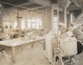 Manufacturing chewing gum. Scene in plant of Beechnut Packing Co., Canajoharie, New York. Local Identifier: 165-WW-192D-18.