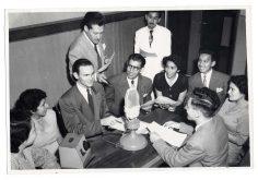 Professor Ed Broadcasts an English-Speaking Radio Class, Lima, Peru (306-CS-6S-1) https://catalog.archives.gov/id/23932433