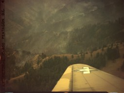 342-C-K3737 NAID: 148728152 Original Caption: Operation Firefly - A forest fire located in the junction of the Imnaha and Snake River in Oregon.