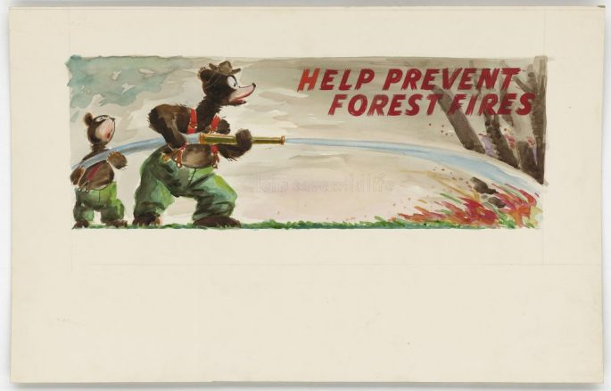 """""""Help Prevent Forest Fires"""""""