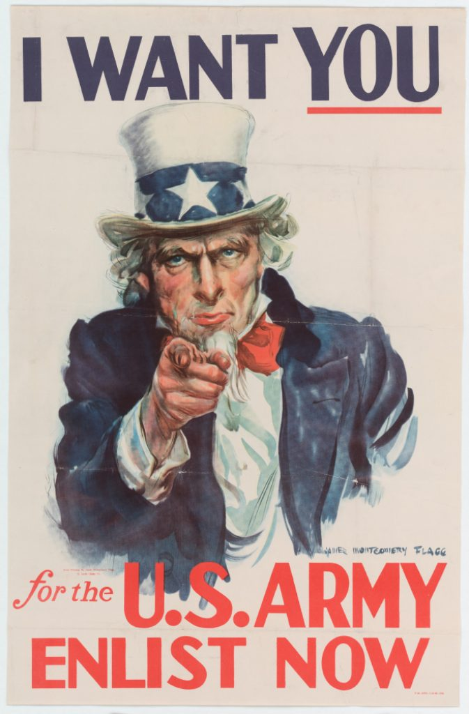 """""""I Want You For The U.S. Army Enlist Now"""""""