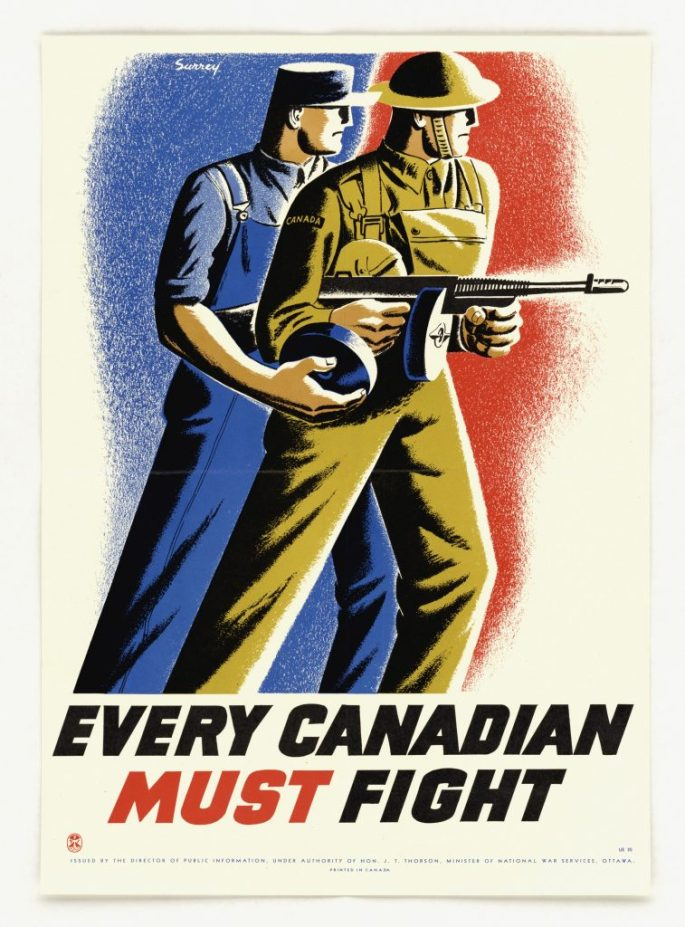 """""""Every Canadian Must Fight"""""""