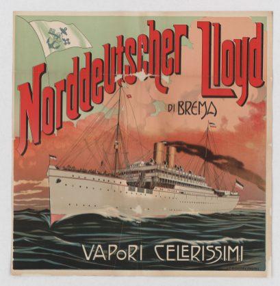 Norddeutscher Lloyd, Bremen, High-Speed Steamers - Local Photo ID: 85-P-5 and NAID 102251868