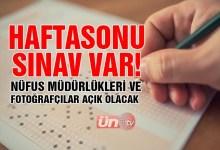 Haftasonu Sınav Var!