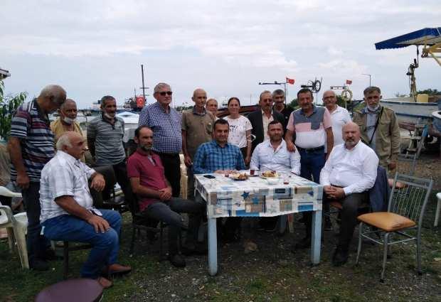 CHP'li Vekil Ünye'de Balıkçıların Sorunlarını Dinledi