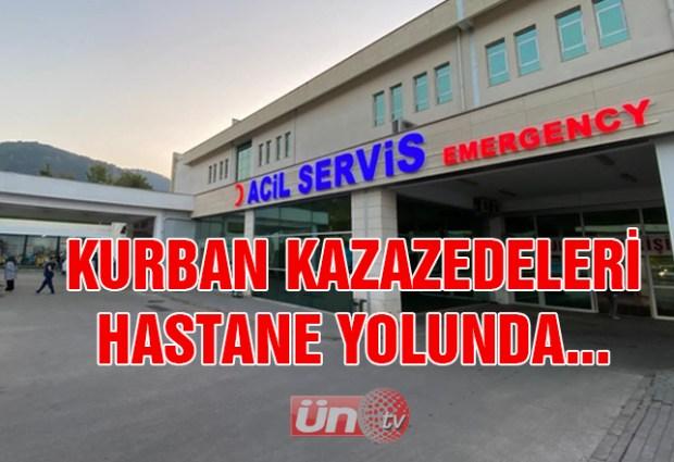 Kurban Kazazedeleri Hastanede Yolunda…