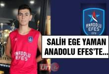 Salih Ege Yaman Anadolu Efes'te…