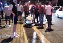 Otomobilin Çarptığı Yaya Yaralandı!
